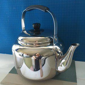 Demeyere Stainless Steel Tea Kettle 6.3QT